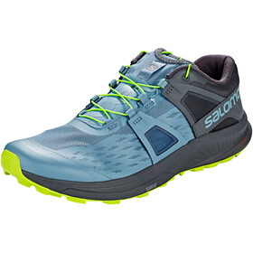 Salomon Ultra Pro Shoes Men bluestone/ebony/acid lime